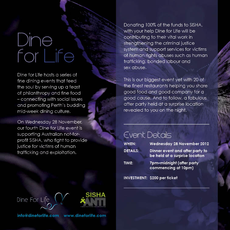 Dine for Life Charity